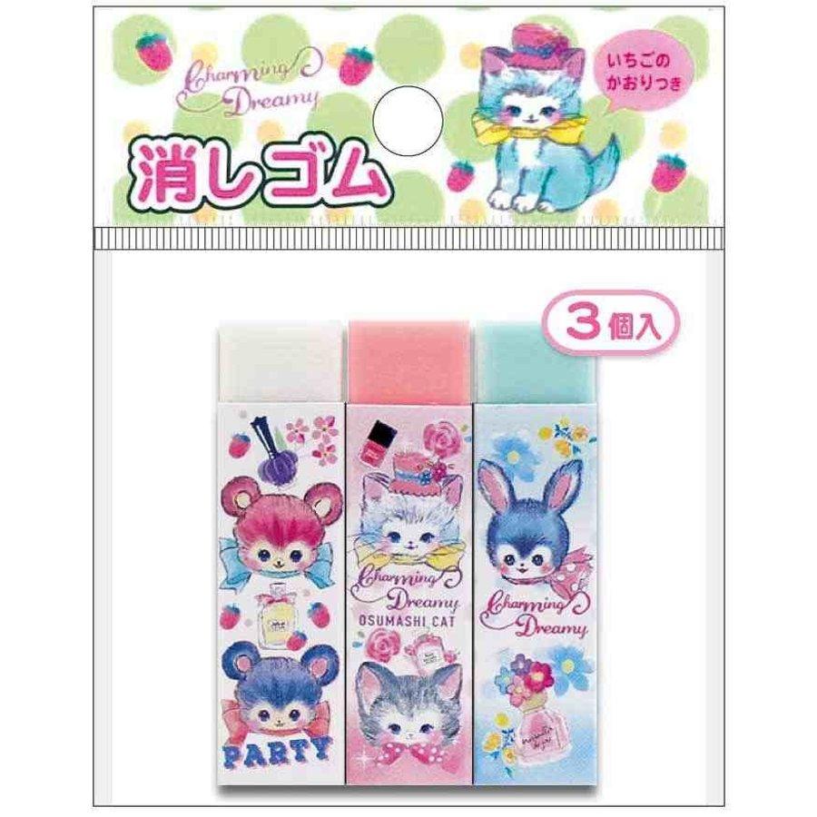 Eraser 3p charming dreamy-1