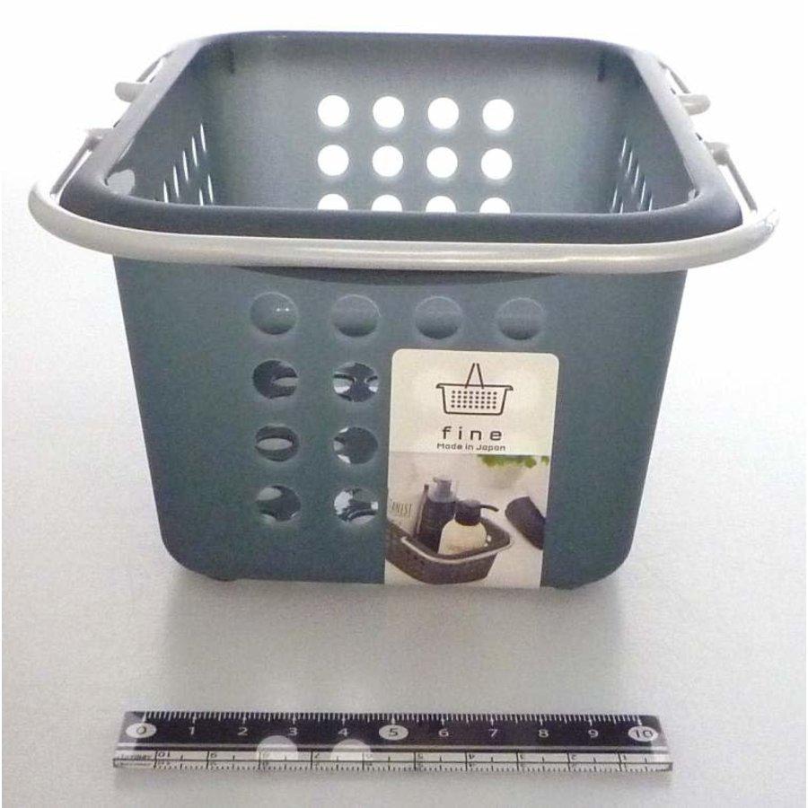 Fine basket clear black-1