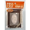 Pass case with extend key chain br