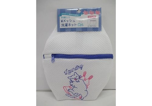 Embroidery W mesh laundry net CAT drum