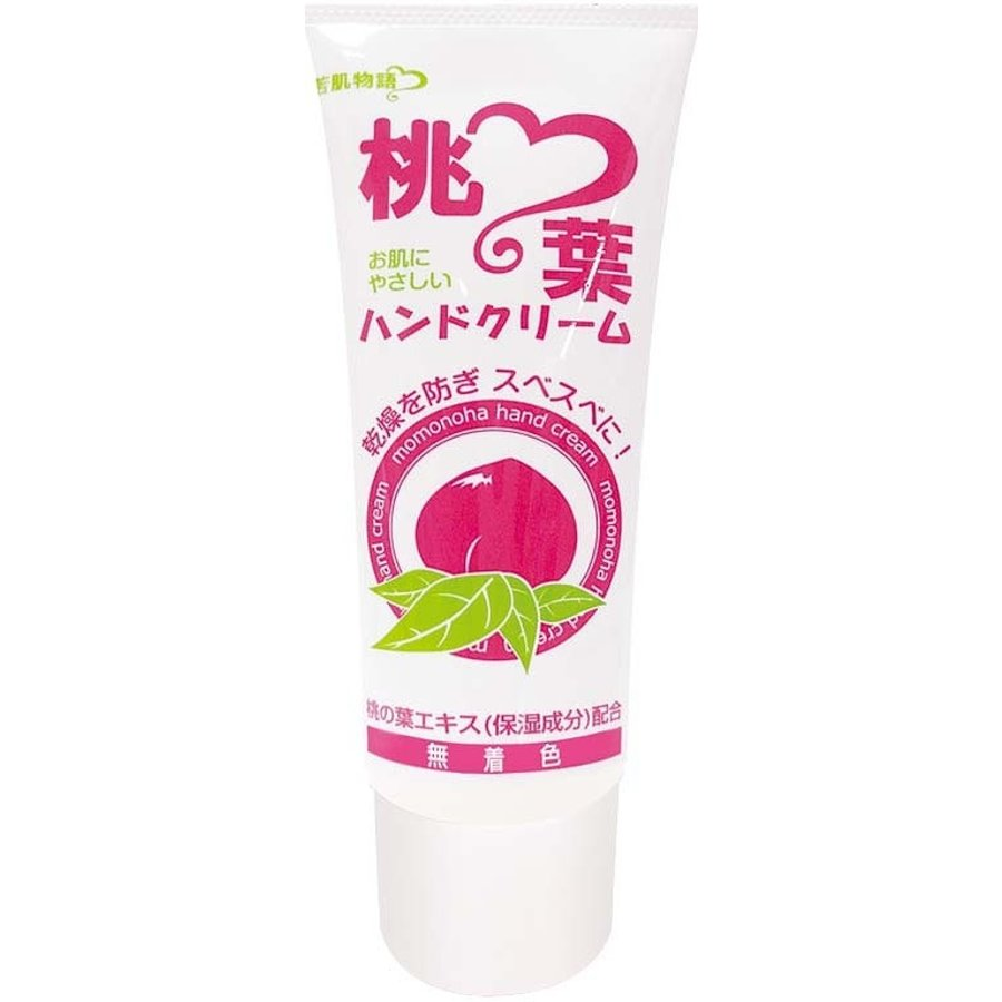 Peach leaf hand cream 50g-1