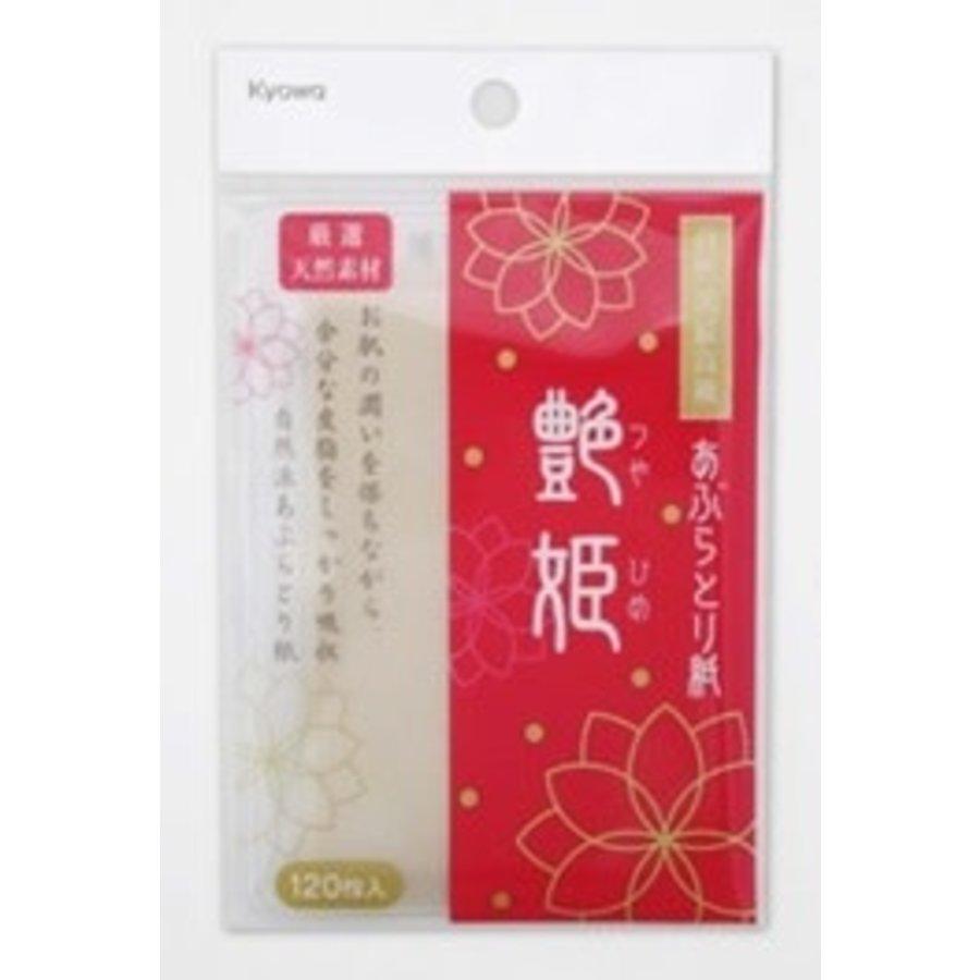 Oil wipe paper Tsuya-hime 120s-1