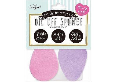 Oil off sponge for face