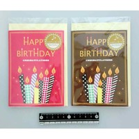 Melody card birthday candle