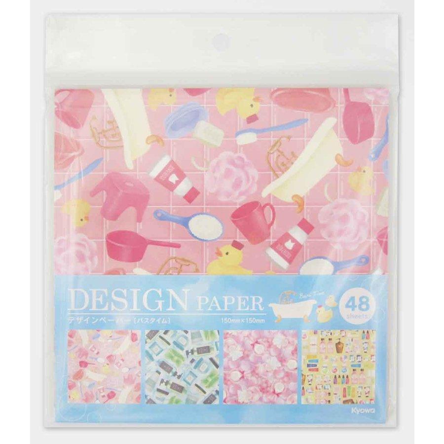 Design paper bath time 48s-1