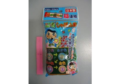 Ninja blow soap bubbles
