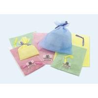 on woven fabric gift bag