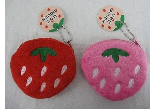 Pouch, strawberry