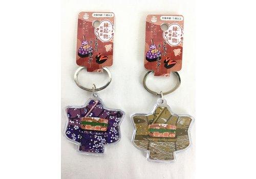 Charm keychain, Kimono