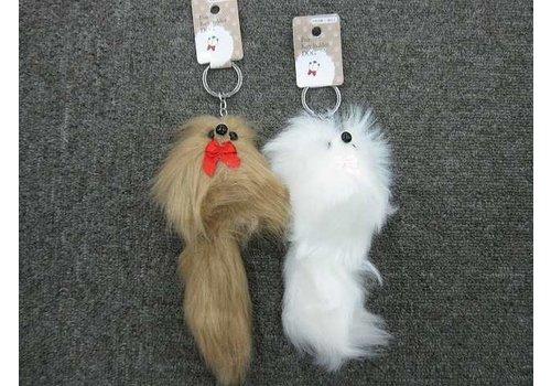 Fur keychain (dog)