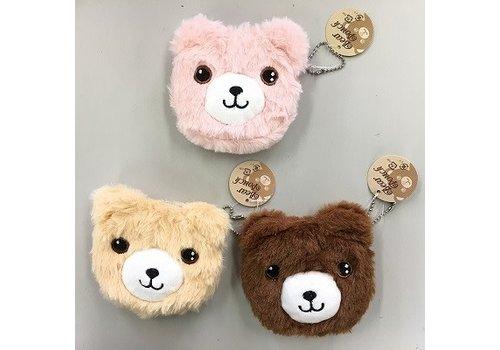 Pouch, fluffy bear