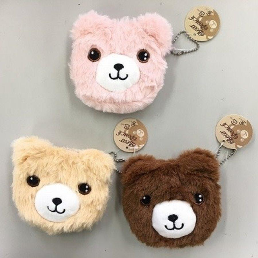 Mokomoko bear pouch-1