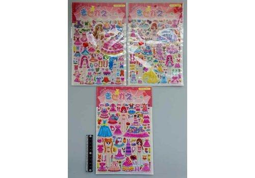 Dress-up stickers kids'