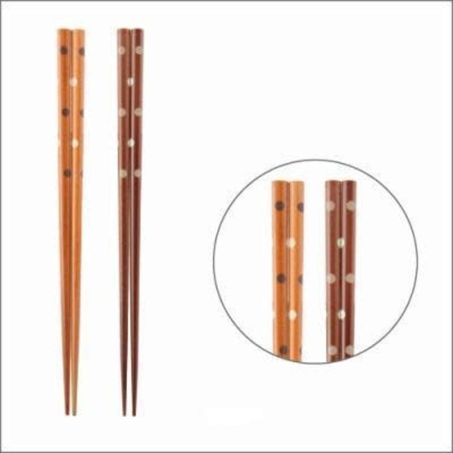 Coated chopsticks 22.5cm-1