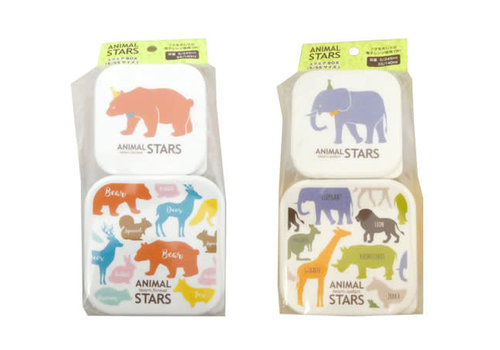 Animal stars square box S, SS