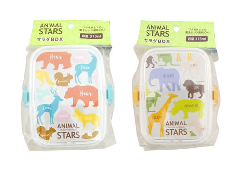 Animal stars salad box