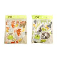 Animal stars lunch drawstring bag