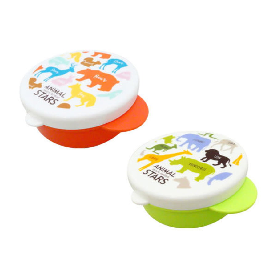 Animal stars : Lunch box with handle-1