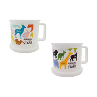 Animal stars single handle cup 190ml