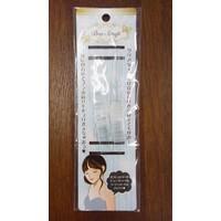 Clear brassiere strap : PB