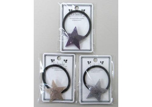 Acrylic glitter star pony