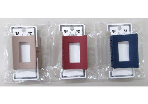 Matte color square frame vance