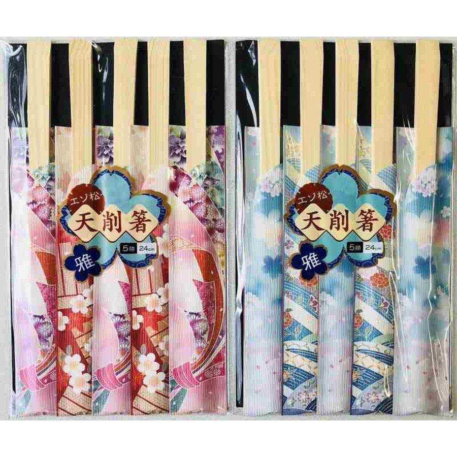 Ezo pine chopping chopsticks Miyabi 5P-1