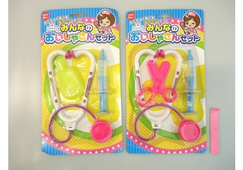 Playing doctor toy