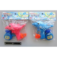Dolphin motif soap bubble toy