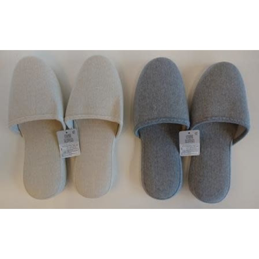 Living slippers natural-1