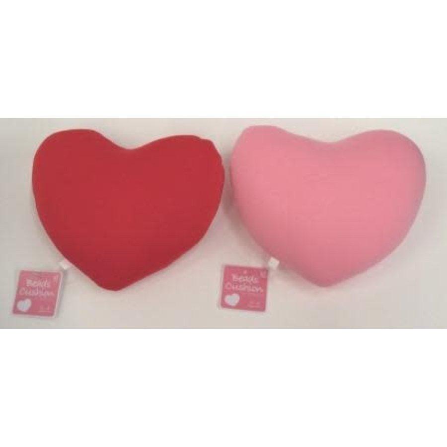 Bead cushion heart PK / RD-1