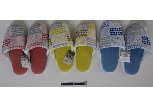 Soft slippers Nordic pattern kids