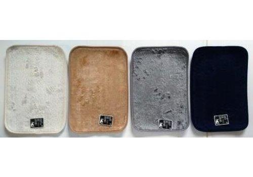 Fluffy boa bath mat 4 color assortment
