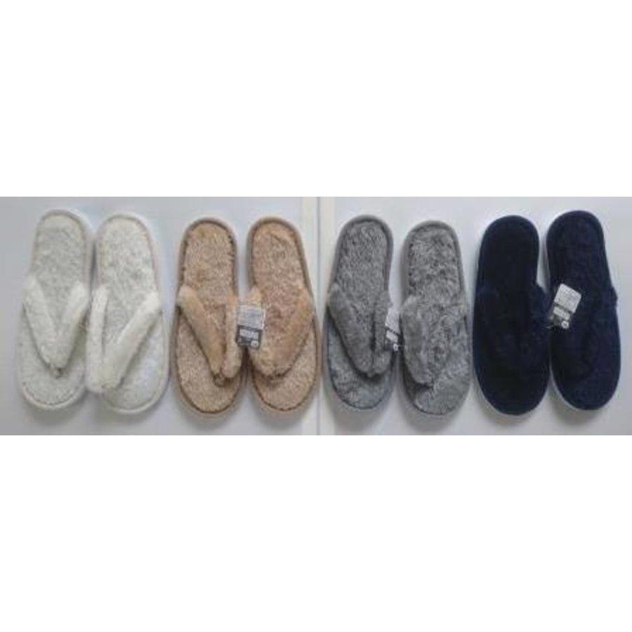 Fluffy boa slipper type-1