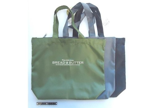 Tote bag with zipper, horizontal