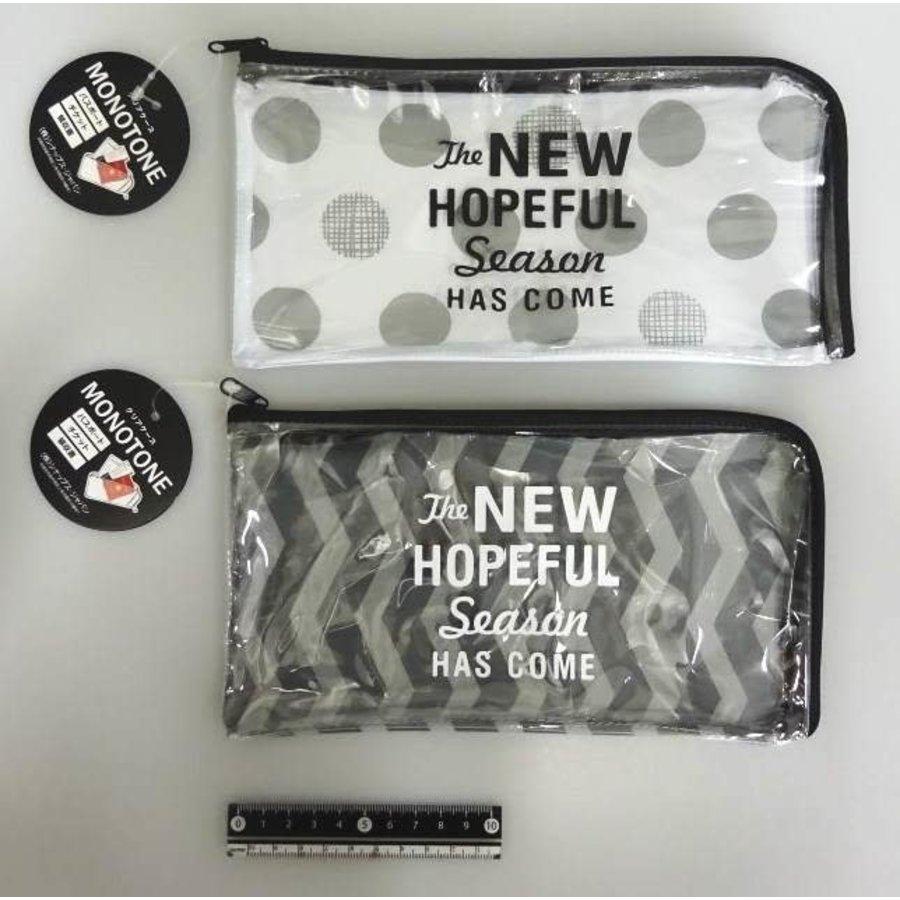 Zipper pouch, monotone-1