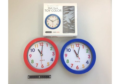 Wall clock toy color : PB