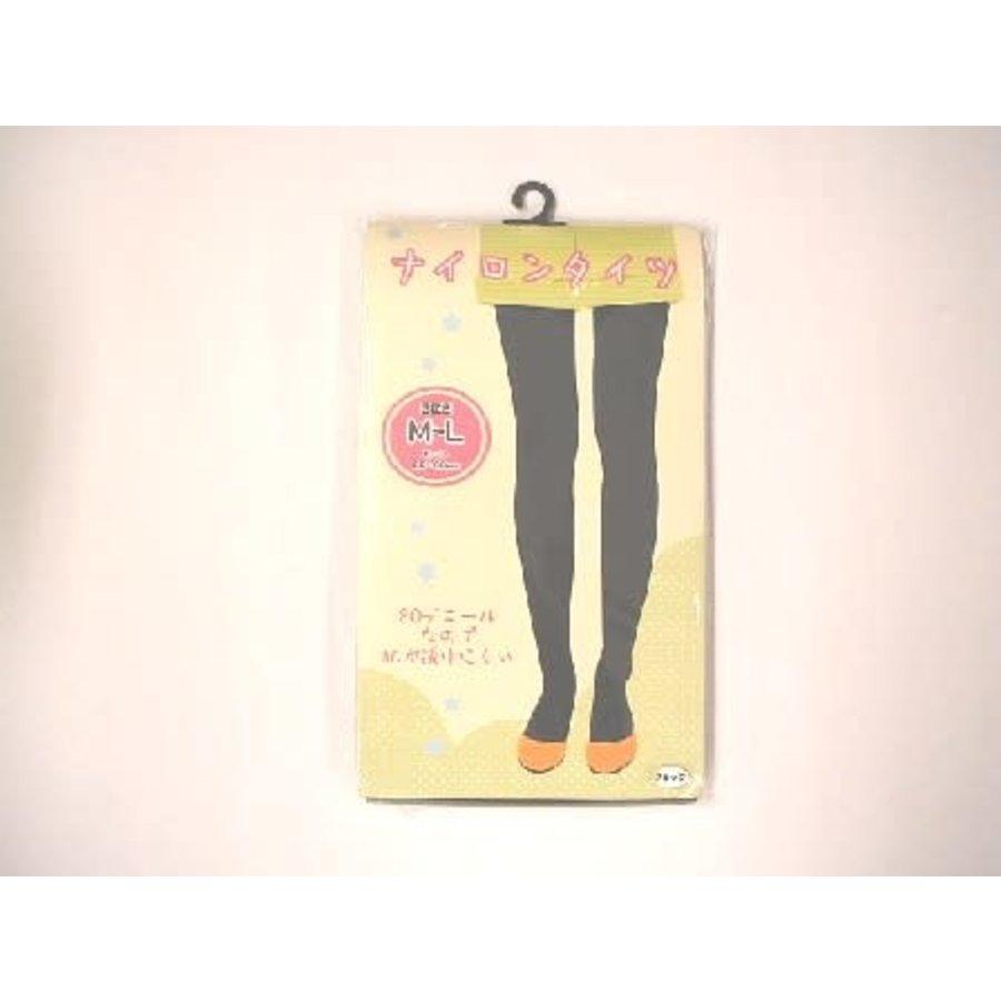 Nylon color tights black : PB-1