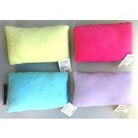 Boa cushion colorful