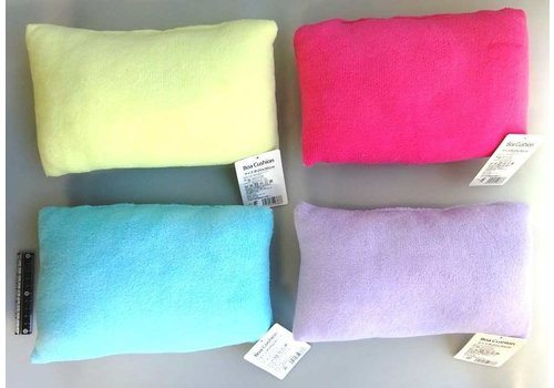 Boa cushion colorful
