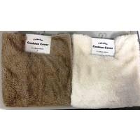 Fake fur cushion cover A: PB