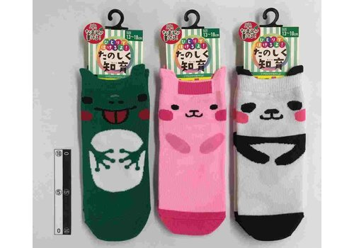 Kids crew socks animal with ears A