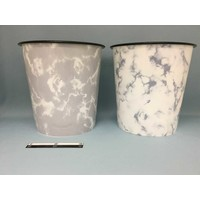Dust basket marble