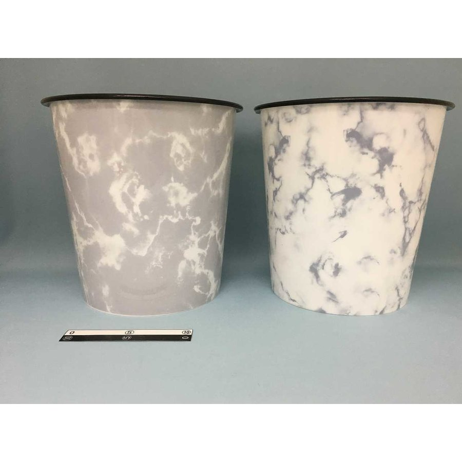 Dust basket marble-1
