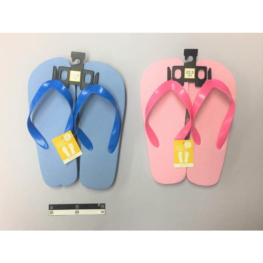 Beach sandals S PK/BL-1