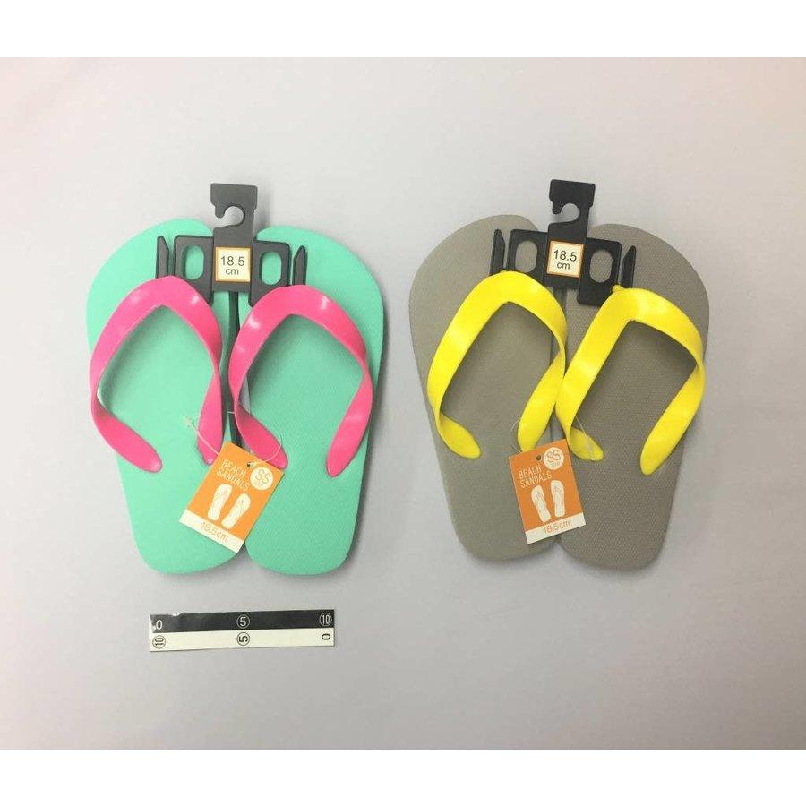 Beach sandals SS GR/GY-1