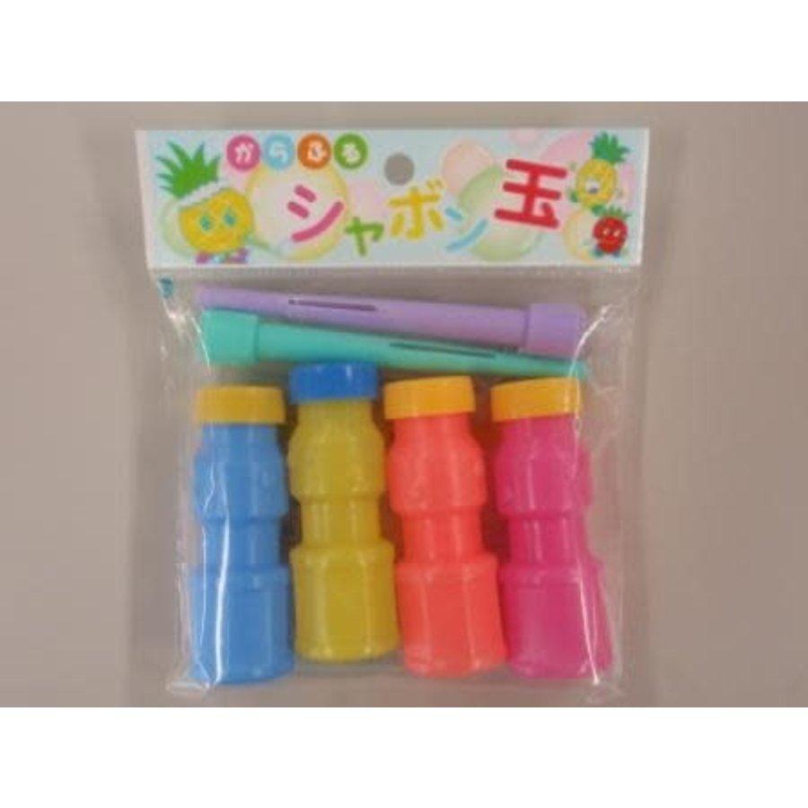 Colorful soap bubble 4p-1