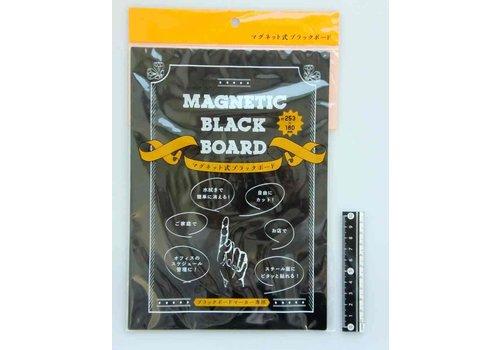 Magnetic blackboard for blackboard marker