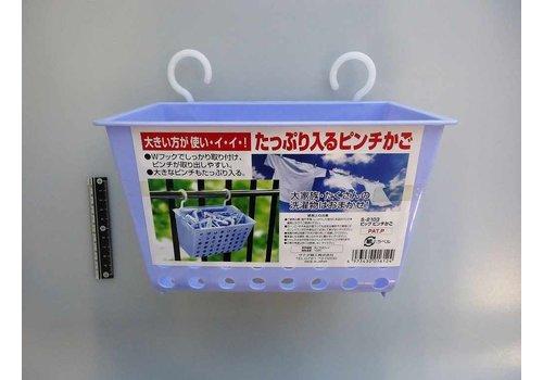 Plastic basket for clothespins, large