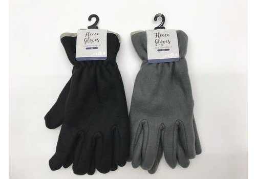 Fleece glove plain